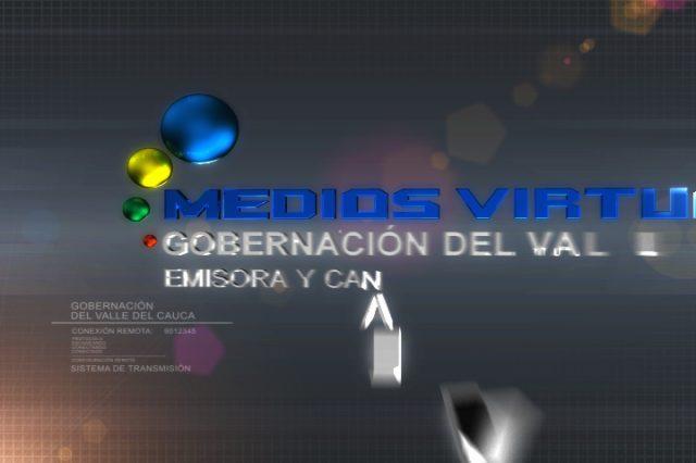 Identidad Canal Virtual (Gobernación del Valle 2010)