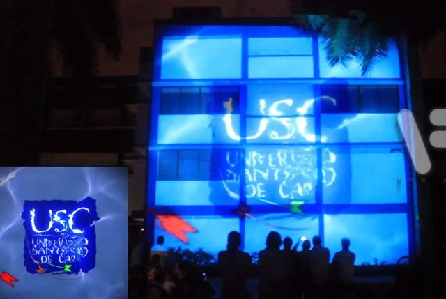 Video Mapping Projection – USC