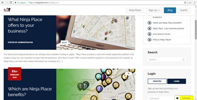 Ninja Place Blog Multilenguaje